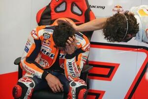 【MotoGP】マルク・マルケス、大怪我からの復帰戦に涙。MotoGP7位完走に「夢が叶った」と感情爆発|ポルトガルGP