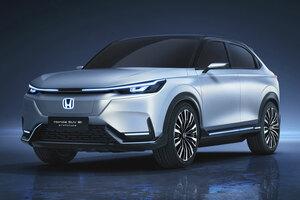 【中国にEV投入】ホンダSUV eプロトタイプ、世界初公開 上海モーターショー2021