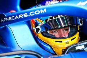 アロンソが復帰後初入賞「この1戦で4戦分の経験をしたような気がする」アルピーヌ/F1第2戦