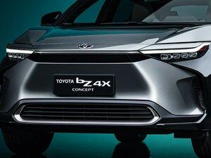 ソーラー充電システム搭載!トヨタがスバルと共同開発した4WDのEV「bZ4X」初披露