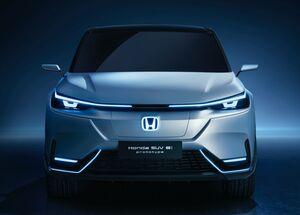どう見ても新型ヴェゼルのEV!? 世界初公開の「ホンダ SUV eプロトタイプ」