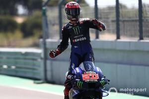 【MotoGP】2連勝ファビオ・クアルタラロ、2021年型YZR-M1に自信深める「どこでも上手く機能する」|ポルトガルGP