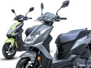 【SYM】「オービット・スリー50/125」に新色を追加し国内販売をスタート