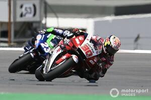 【MotoGP】「最後にはレースを楽しむことができた」中上貴晶、初日転倒で鎖骨痛めるも出走し10位獲得|ポルトガルGP
