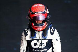 角田裕毅12位「いいレースをしていたのにスピンした自分にがっかり。今日の学習を次に生かしたい」/F1第2戦決勝