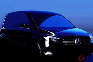 メルセデス・ベンツが小型ミニバンの新型「シタン」世界初公開! 8月25日に発表へ