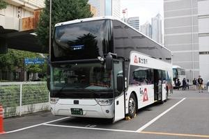 グループ初の2階建てバス 「フジエクスプレス」のIntercCityDDを穴が開くほど観察してきた!!
