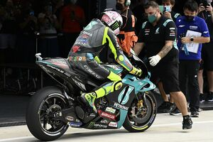 【MotoGP】バレンティーノ・ロッシ、サンマリノGP予選Q1クラッシュ&23番手に終わる「実に苛立たしい結果」