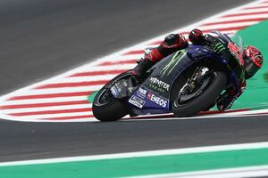【MotoGP】クアルタラロ「普段以上に予選で苦戦した」決勝レースは4台のドゥカティ勢に囲まれてスタートへ