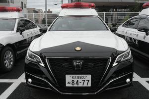 遂にデビュー! 220系クラウンがベースの新型パトカー 公式SNSで公開 愛知県警