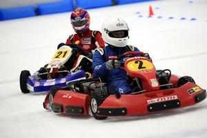 電気レーシングカートでスケート場を走行! 第2回SDG氷上電気カート競技会「SDGs ERK on ICE」開催