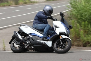 現行250スクーター ホンダ「フォルツァ」2021年型は大幅な改良が加わり走りも変わった?