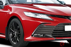 V6搭載! トヨタ「カムリGRスポーツ」の爆イケ顔がカッコいい 独自仕様の人気セダン その正体は?