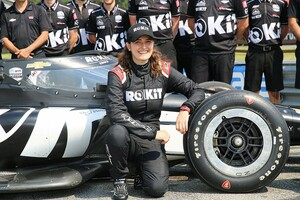 ThreeBond DragoCORSE、タチアナ・カルデロンのレース日記|第3回:日本に戻れぬ日々……インディカーも初体験し、いざル・マンへ