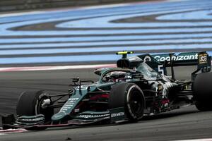 """アストンマーチンF1、フランスGPの好走でタイヤの""""不正疑惑""""は晴れた?「これで黙ってくれればと期待」"""