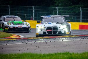 ゲスト参加の新型BMW M4 GT3、スパ24時間テストデーを全体ベストで締めくくる