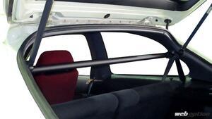 「ラルグスの超極太リヤピラーバーがEK4&EK9シビックに対応!」開口部の剛性を大幅アップ
