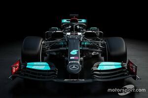 """メルセデスの""""F1支配""""は続くのか。新車『W12』を発表、ブラックアローで8連覇を狙う"""