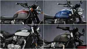 トライアンフ2021新車バイクラインナップ〈#2:モダンクラシック〉ボンネビル etc.