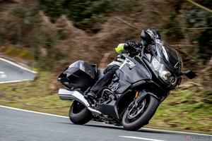 シルキーシックスをバイクでも!? BMW Motorrad「K1600B」は現行モデル唯一の直列6気筒エンジンを搭載するプレミアムツアラー