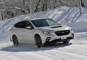 「最新モデルの〇と×」話題の全天候GTワゴンに死角はないのか。新型SUBARUレヴォーグを冬道で試す
