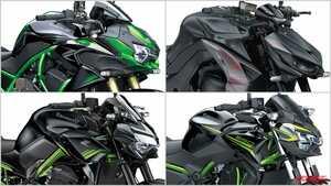 カワサキ2021新車バイクラインナップ〈大型ネイキッドクラス〉Z H2 SE etc.