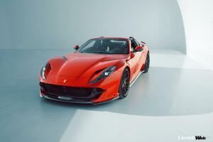 最高出力840hp! ノヴィテックが「フェラーリ 812 GTS」のチューニングプログラムを発表 【動画】