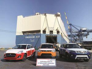 スズキ、インドからの累計輸出台数が200万台を突破 35年で達成