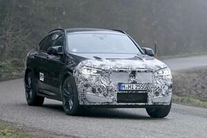 【スクープ】BMW X4改良新型、X3と年内デビューへ開発順調! テールライトも新グラフィック採用