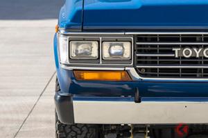 激シブ角目のトヨタ「ランクル」が800万円超え!? ブルーの極上仕様「60系」がスゴい!