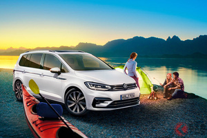 さらに便利で安全でパワフルなモデルに進化! VW「ゴルフ トゥーラン」の仕様変更を発表