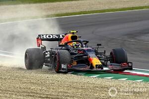 痛恨スピンで11位のペレス「チームに申し訳ない」さらなる活躍をレッドブルも期待|F1エミリア・ロマーニャGP