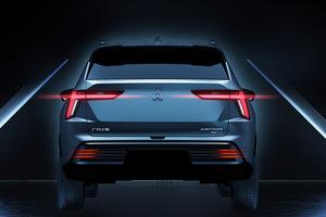 【上海モーターショー2021】三菱 新型EV「エアトレック」のデザインを発表