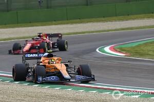 ランド・ノリス、再スタートでソフトタイヤ装着は「正しい判断だった」チームの決断を称賛|F1エミリア・ロマーニャGP