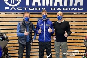 【MotoGP】クアルタラロ、ヤマハのファクトリー施設を訪問。走行は3月カタールテストまでお預け