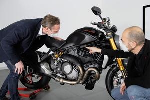 ドゥカティ史上販売最多モデル スポーツネイキッド「モンスター」が生産累計35万台を達成