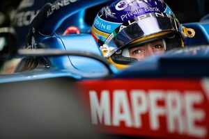 アロンソ6位「最後の2周はアグレッシブに攻めた。最高に楽しかったよ」アルピーヌ/F1第6戦