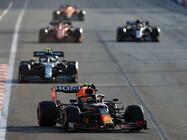 F1第6戦、ペレスがレッドブル移籍後初優勝。フェルスタッペン、ハミルトンはノーポイント【アゼルバイジャンGP】