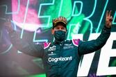 アストンマーチン初表彰台のベッテル「タイヤマネージメントがカギだった」