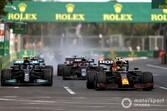 """レッドブル・ホンダのペレス、""""ジェットコースター""""のようなレース優勝を喜ぶも「まだ伸び代が残っている」"""