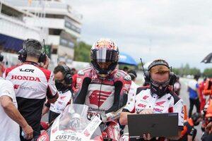 中上貴晶「悔しい結果ですが、ポジティブな面を持ち帰りたい」/MotoGP第7戦カタルーニャGP決勝