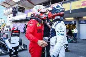 ポールから4位のルクレール「ガスリーとの表彰台争いはハードだった」フェラーリ/F1第6戦
