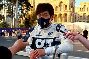 【角田裕毅F1第6戦密着】自己最高7位入賞も、終盤のポジションダウンに戸惑い「できる限りのことをしたのに……」