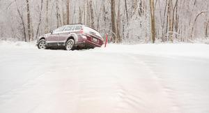 雪道でトラブル発生! さてどうする?