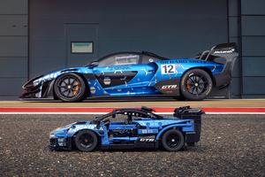 特徴的なリヤウイングやドアを完全再現、LEGO Technicに「マクラーレン セナ GTR」が登場!