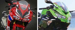 ホンダ「CBR250RR」とカワサキ「Ninja ZX-25R」のメカニズムを比較検証!【2気筒 VS 4気筒 250ccスーパースポーツ対決】