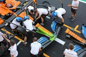 マクラーレン、メルセデス型ノーズを試験導入。2~3レース後の実用化を目指す