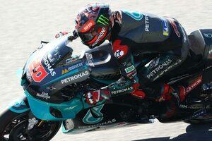 MotoGP第7戦:クアルタラロがトップタイム。初日総合はトップ3をヤマハ勢が占める
