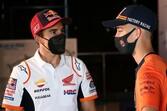 【MotoGP】マルケス、ミル&クアルタラロが超ド級ルーキーのペドロ・アコスタにアドバイス「一歩一歩進んで」