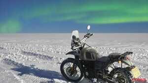 目指せ南極走破! ロイヤルエンフィールド「ヒマラヤ」世界初の冒険が11月26日にはじまる